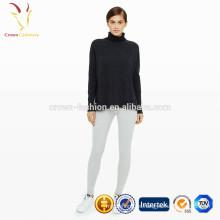 pantalones casuales para mujer de invierno cálido, pantalones de cachemir para mujer