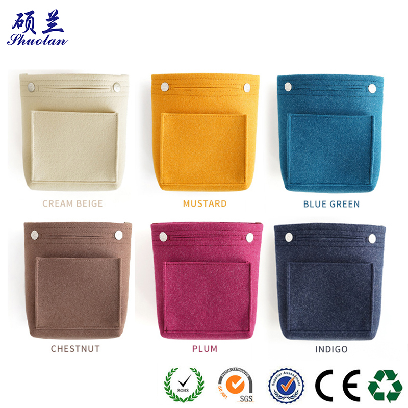 High Quality Felt Cometic Bag