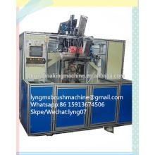 Máquina de perfuração e enchimento de escova CNC de 5 eixos (2 cabeças de perfuração e 1 de enchimento)