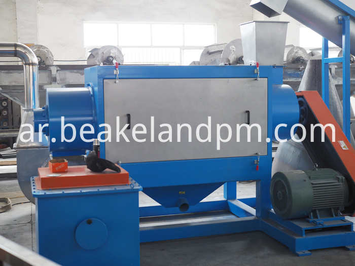 Plastic Waste Crushing Washing Line