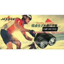 Luz da bicicleta do diodo emissor de luz de 1800Lumens 2XCREE XML LED para a bicicleta de montanha