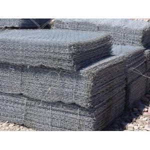 Hot dicelup galvanis Gabion box Wall