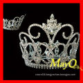 Shining large diamond pageant tiara crown