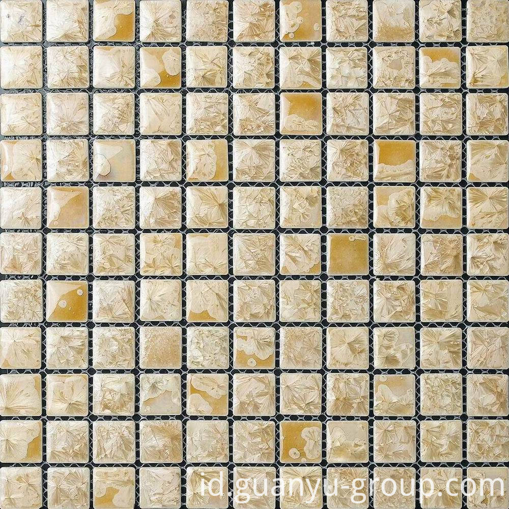 Beige Glazed Transforming Ceramics Mosaic