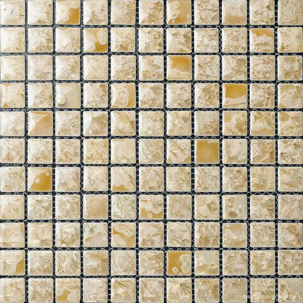 Beige Glazed Transforming Mosaic Tile