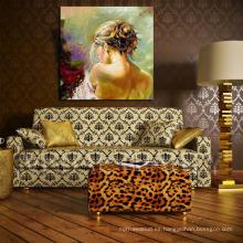 Venta al por mayor pintura al óleo desnuda moderna