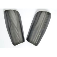 fashion carbon fiber soccer shin guard