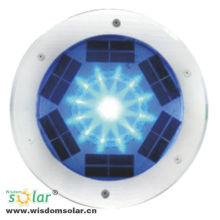 Beliebte CE RGB Farbe wechselnden solar LED Stein Licht