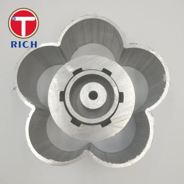 Perfil industrial de alumínio da extrusão quente GB / T6892