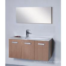 Hot Sale Wood Veener Bathroom Vanity with Good Quality (SW-WV1200)