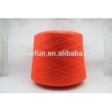 Stock service en gros 2 / 24NM 80% cachemire 20% laine mélangé fil pour pull