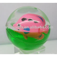 65mm Flash Glitter Led Bouncing Crystal Ball