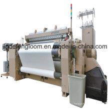 Máquina de tejer de 6 colores Tear de Airjet Shuttleless con desprendimiento de leva