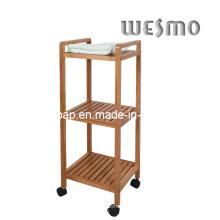 Rack de salle de bain en bambou carbonisé (WRB0508A)