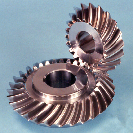 copper spiral helical gear with 20 pressure angle