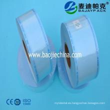Bolsas de esterilización de equipos médicos de alta calidad / rollo / carrete