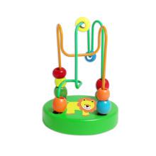 Деревянные мини бусины игрушка для детей и новорожденных