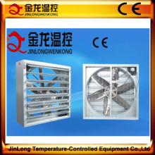 Exaustor pesado eficiente alto do martelo de Jinlong com lâminas de aço inoxidável