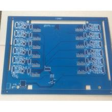 8 layer TG170 1.6mm blue solder HDI board