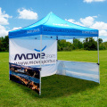 Portable Folding Chair With Steel Canopy