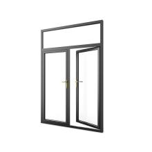 Двустворчатый створчатый дверной люк с двумя следами алюминиевый шарнир ветрозащитный