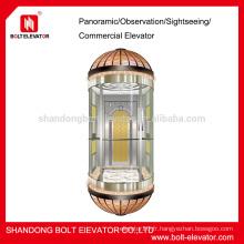 Capture de capsule Tout en verre Capacité de capsule panoramique