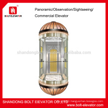 capsule lift Whole Glass Panoramic capsule lift