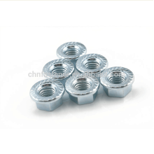 Carbon Steel Flange Blue White Zinc Flange NUT
