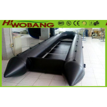 Military Rescue Boat 6.3m China Inflatable Life Boat with CE