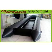 Resgate militar barco 6,3 m China inflável bote salva-vidas com CE
