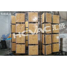 Metallizer do vácuo da telha cerâmica PVD / máquina de revestimento cerâmica do vácuo do ouro
