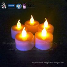 Good Quality Mini Plastic LED Tea Light Candle for Sale