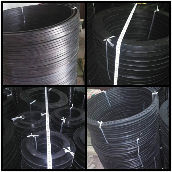 slurry pump rubber seals
