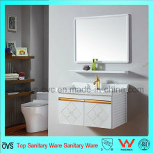 Good Quality Modern Aluminum Bathroom Vanity with Basin