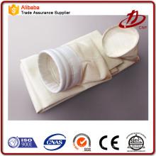 Bolsa de filtro de tela de fibra de vidrio de superhigh temperatura