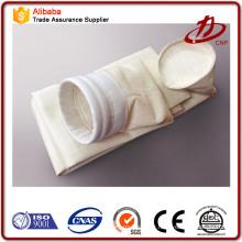 Sac filtrant collecteur de poussière polyester p84 ptfe sac à filtre à feutre aiguilleté