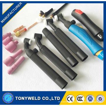 weldcraft WP9v аргон, сварочная горелка аргонодуговая факел