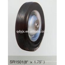 """ruedas pequeñas de goma 8 """"X1.75"""""""