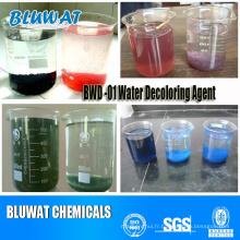 Procédé de traitement des eaux usées à base de colorant de Bwd-01