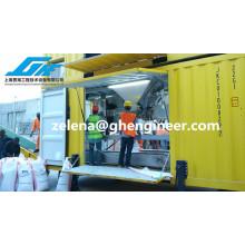 Machine de remplissage automatique et d'ensachage de port