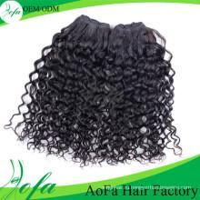 2015 Горячая Распродажа 100% Различные Наращивание Волос Свободные Вьющиеся Волосы