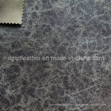 Eco-Friendly Breathable PU Furniture Leather (QDL-FB0019)