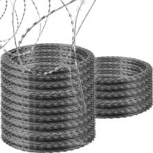 Low price concertina hot dipped galvanized razor barbed wire
