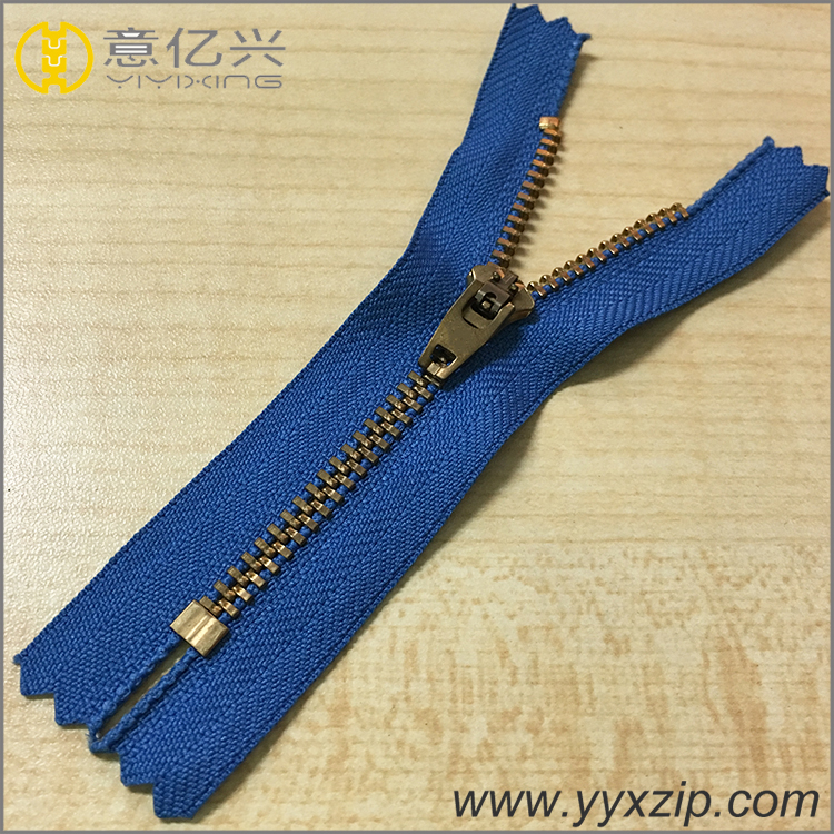 No.4 Metal YG Zipper
