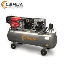 5.5hp gasoline engine 3hp motor 200litre multi use air compressor