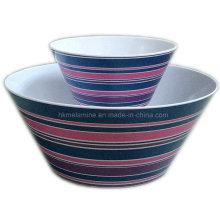 Melamin Mischen Salat Schüssel (BW245)