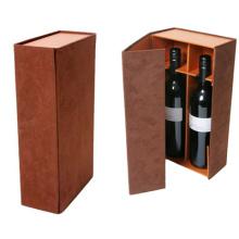 Caixas feitas sob encomenda da garrafa de vinho com divisores do cartão