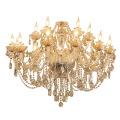 Lampes à suspension en cristal classiques
