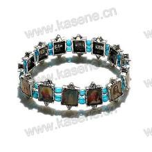Christian Christian Picutres Bracelet Saints en alliage de métal