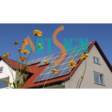 Système de montage solaire à toit incliné - Toit en tuiles métalliques